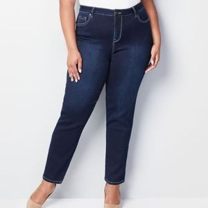 Avenue Butter Denim Straight Fit Jeans NWT